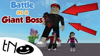 TNO JE GIANT BOSS!!! - Battle as A Giant Boss! | Roblox | CZ/SK