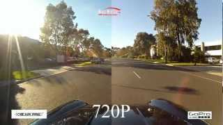 GoPro HD Hero 2 vs ION Air Pro Side by Side Comparison Review Split Screen