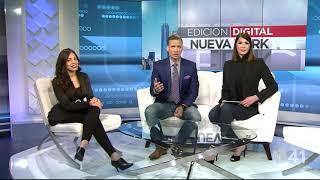 Entrevista Mabell Damirón en Univisión NY