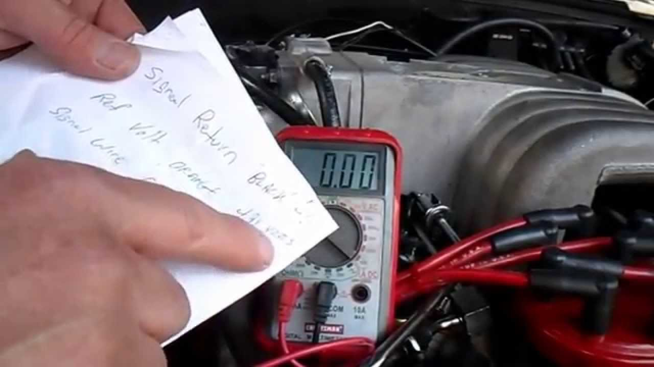 maxresdefault throttle position sensor mustang youtube 2005 mustang gt tps wiring diagram at bayanpartner.co