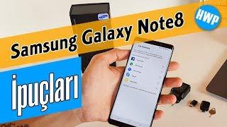 Samsung Galaxy Note8 İpuçları