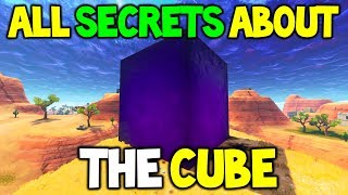 FORTNITE: SECRETS BEHIND THE CUBE, WHAT THE CUBE DOES IN GAME! ABILITIES + FREE SHEILD + MORE!