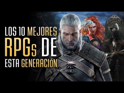 Los 10 mejores juegos RPG de esta generación