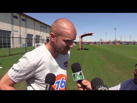 #MLS | Philippe Senderos, defensor del Houston Dynamo