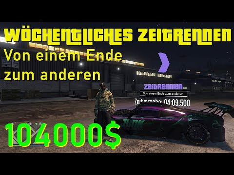 GTA 5 ONLINE ZEITRENNEN - VON EINEM ENDE ZUM ANDEREN | +104.000$ | Abkürzungen, Tipps & Tricks