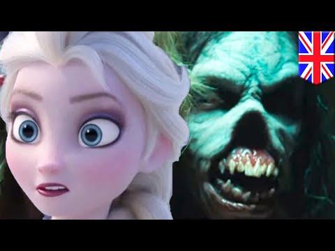 YouTube ad fails: adegan horor dengan video Frozen - TomoNews