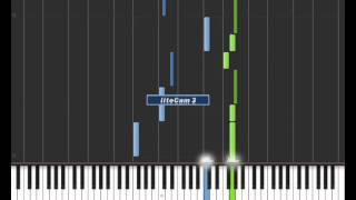 Legend of the Mermaid - Mermaid Melody Pichi Pichi Pitch Piano Tutorial