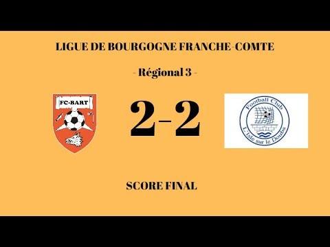 F.C. Bart - F.C Isle sur le Doubs (2-2) - Résumé