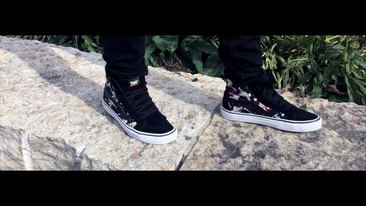 ddda18eb37 VANS SK8 HI x TOY STORY COLLAB! - YouTube