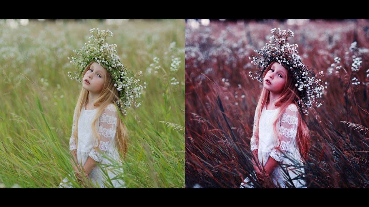 Как получить чистые цвета при обработке фото