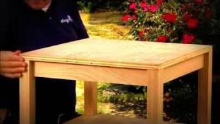 Step By Step: Building An Accent Table [part 3: Table Top]