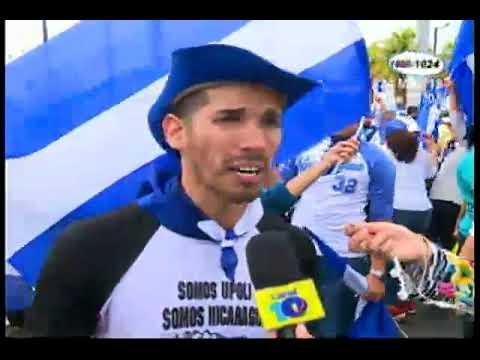 """""""Despierta Nicaragua"""": Nueva manifestación en la capital"""