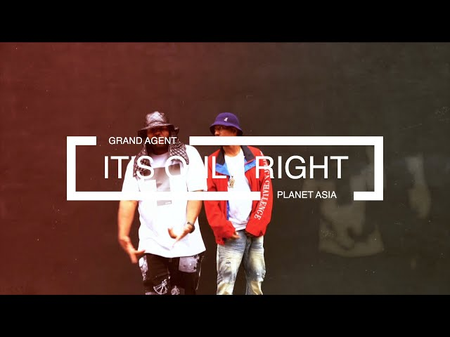 GRAND AGENT FT. PLANET ASIA - IT'S ONLY RIGHT (PROD. BY HITEK | OFFICIAL VIDEO)