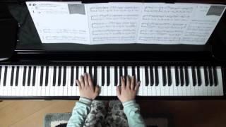 2016年3月19日 録画、 使用楽譜;月刊ピアノ2016年4月号、 楽譜記載の難易度;