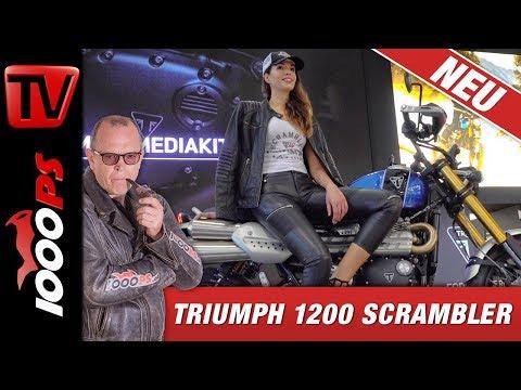 Triumph EICMA 2018 - Scrambler 1200 XC und XE 2019 - Vorstellung