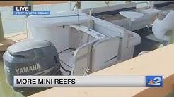 50 mini reefs installed on Fort Myers Beach