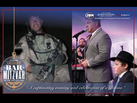 Epic Bar Mitzvah of the Century With US NAVY SEAL. Sea, Air and Land