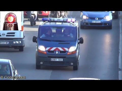 La Gendarmerie en urgence (compilation) // French Gendarmes Responding