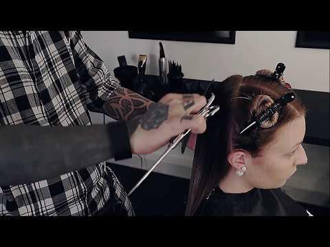Haarschnitt-Anleitung: Stufenschnitt lange Haare