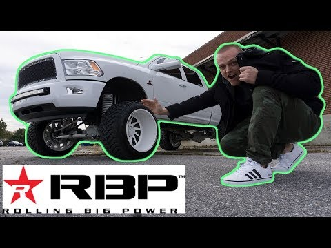 RBP Repulsor Rolling Big Power Mud Tire Review On Lifted Cummins Diesel Truck ! Worth The Money?