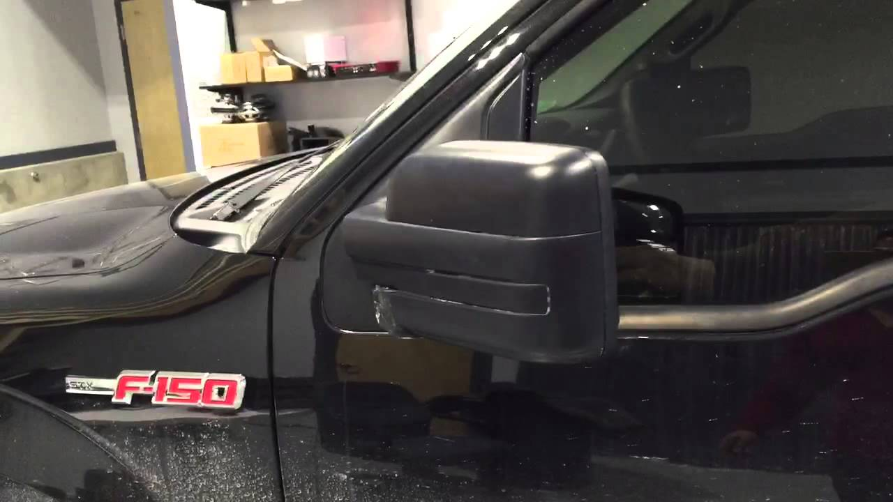 2012    F      150    Power Fold mirrors Non Tow Style  YouTube