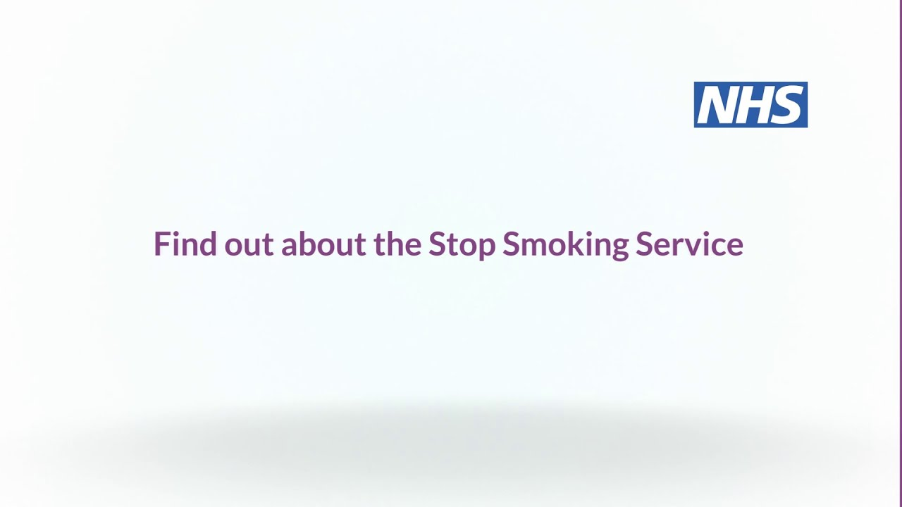 NHS Stop Smoking Service - your views?