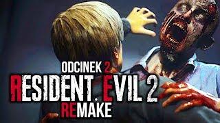 Zagrajmy w Resident Evil 2 PL #2 - CO TO ZA POTWÓR?! - PREMIERA