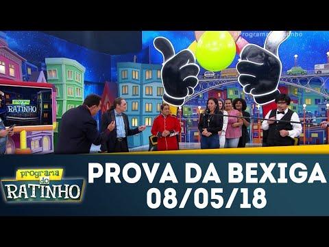 Prova Da Bexiga - Completo | Programa Do Ratinho (08/05/18)