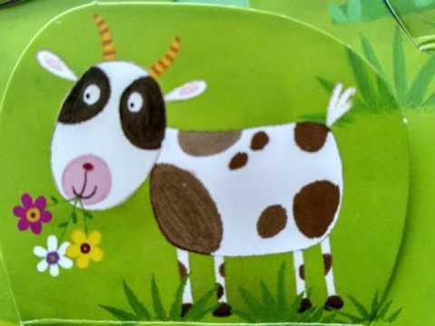 На лугу в деревне картинки животных для малышей детям о животных