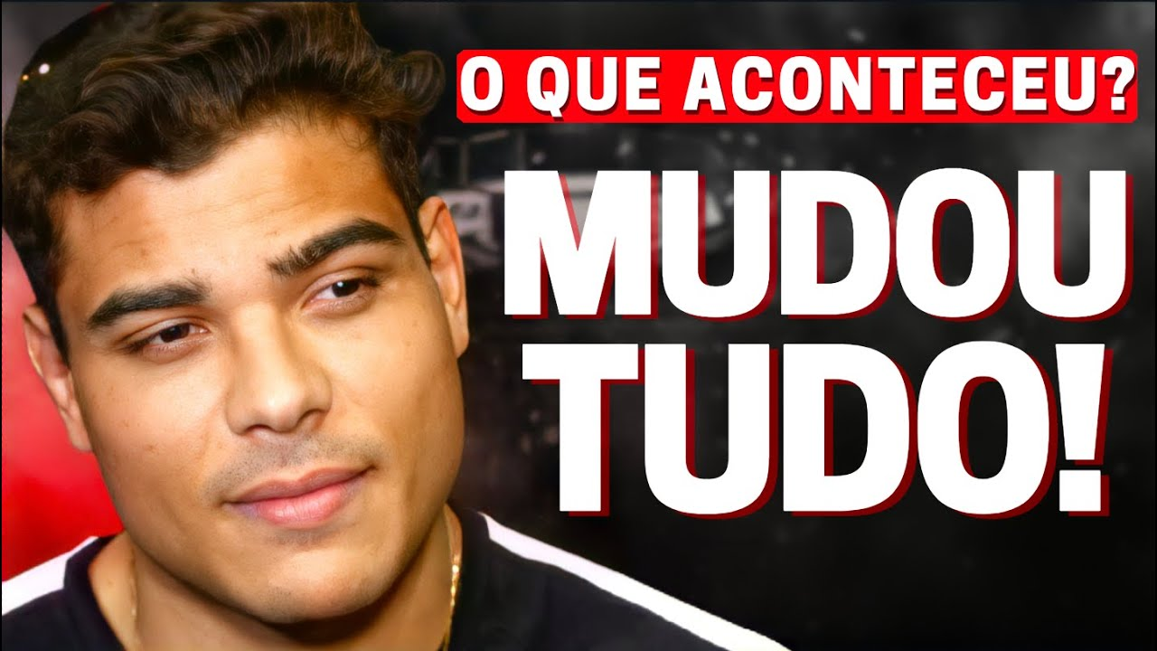 BORRACHINHA SURPREENDE, REVELA NOVO PLANO NO UFC E COMENTA DUELO CONTRA VETTORI