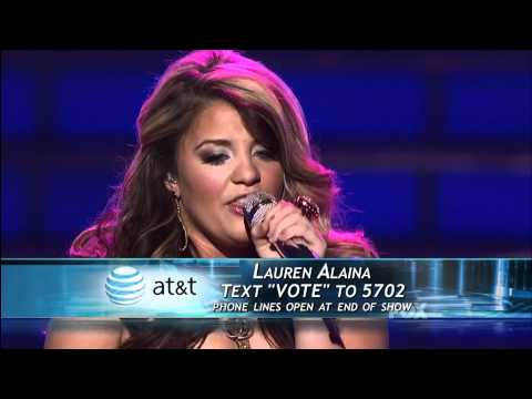 true HD Lauren Alaina Maybe It Was Memphis Top 2 American Idol 2011 May 24