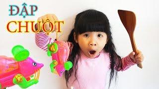 Trò Chơi Bắt Con Chuột Đồ Chơi Trẻ Em ♥ Bé Bún - CreativeKids ♥