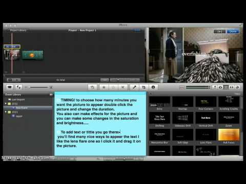 How To Use IMovie
