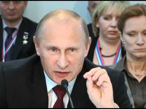 """Putin takes part in the United Russia conference session """"Civil Society: Partnership and Justice"""""""