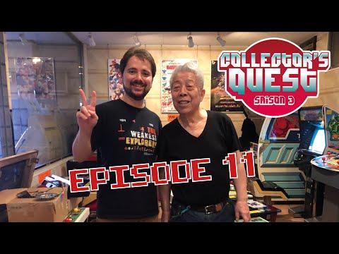 Collector's Quest Saison 3 au Japon (Ep.11) chez Amano Game Museum