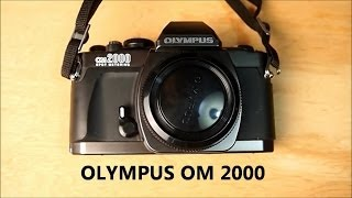 Value Village Find Olympus Om 2000 Spot Metering Camera
