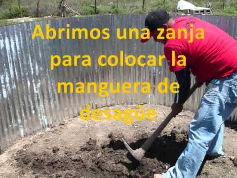 Cultivando saberes 6 tanque zamorano doovi Estanques para cachamas