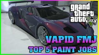 VAPID FMJ TOP PAINT JOBS | Finance and Felony | GTA 5 Online DLC