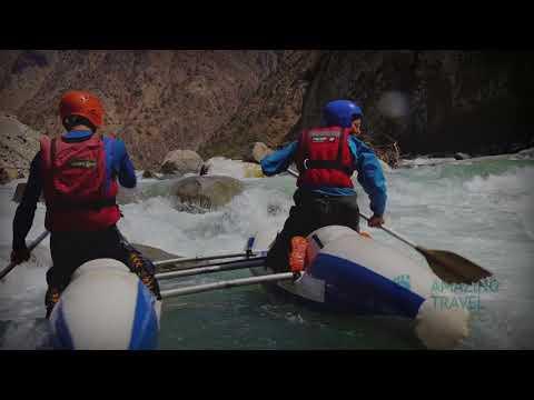 Rafting in Tajikistan
