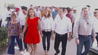 Visita Gobernadora instalaciones del Delfinario Sonora