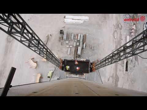 Il Ponte di Genova visto da vicino: i lavori in quota per il completamento del nuovo ponte