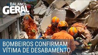 Bombeiros confirmam primeira vítima de desabamento em Fortaleza (CE)