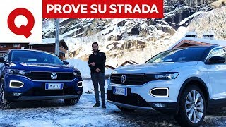 Volkswagen T-Roc: la prova definitiva di benzina e diesel   Quattroruote Video