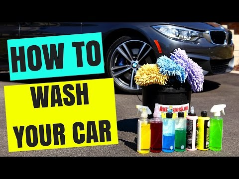 HOW TO WASH YOUR CAR AT HOME, LIKE A PRO !!!