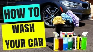 how to car wash at home