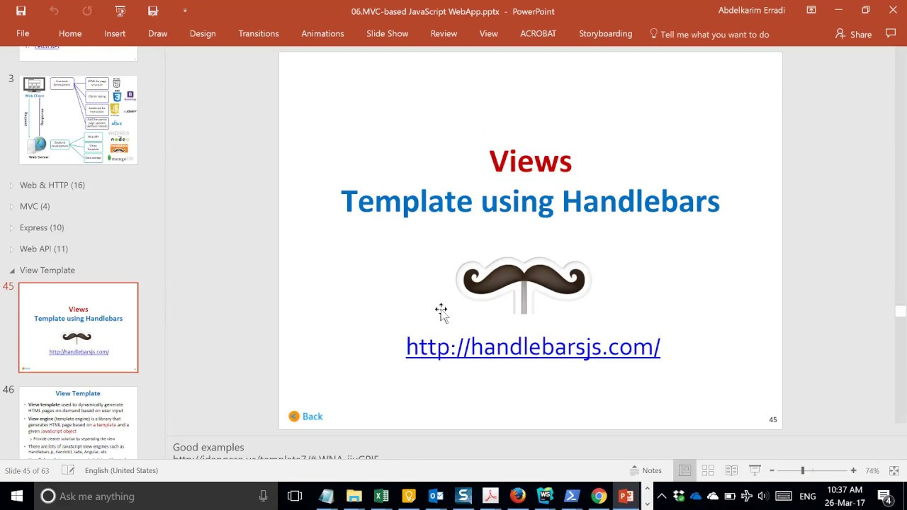 Handlebars templates client side rendering youtube for Handlebars template tutorial