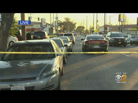 Police Searching For Suspect Who Shot At Officers Near Bell Gardens Elementary School