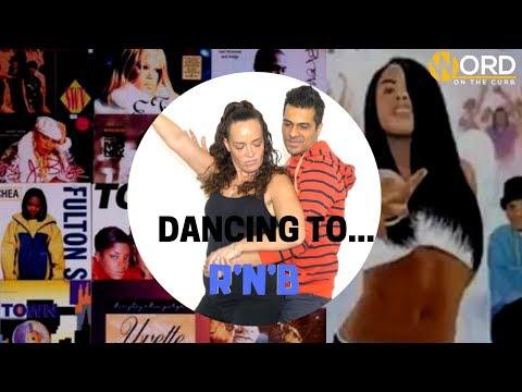 Strangers Dance to Sexy R&B Music