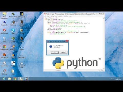 vídeo-aula---python-3.3.0---aula-2---português---tutorial