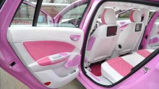 Crazy Tuning Fiat Barbie car